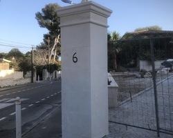 Construction pilier, maçonnerie - Marseille - 13ème - PACA - Alliance Groupes Construction